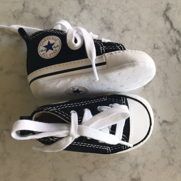 5bf72dfaf802 Converse Other - Converse Chuck Taylor First Star Infant Bootie